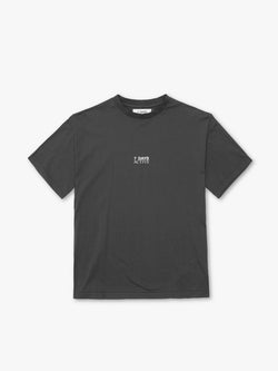7 DAYS Korean town tee Tshirt 032 Dark grey