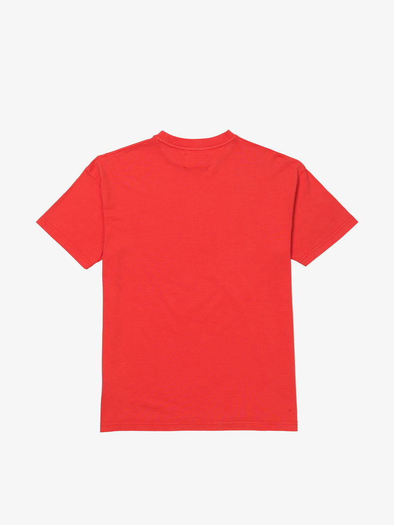 7 DAYS Korean town tee Tshirt 100 Red