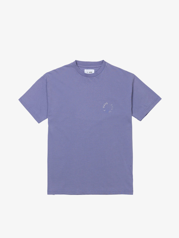 7 DAYS Korean town tee Tshirt 702 Light Purple