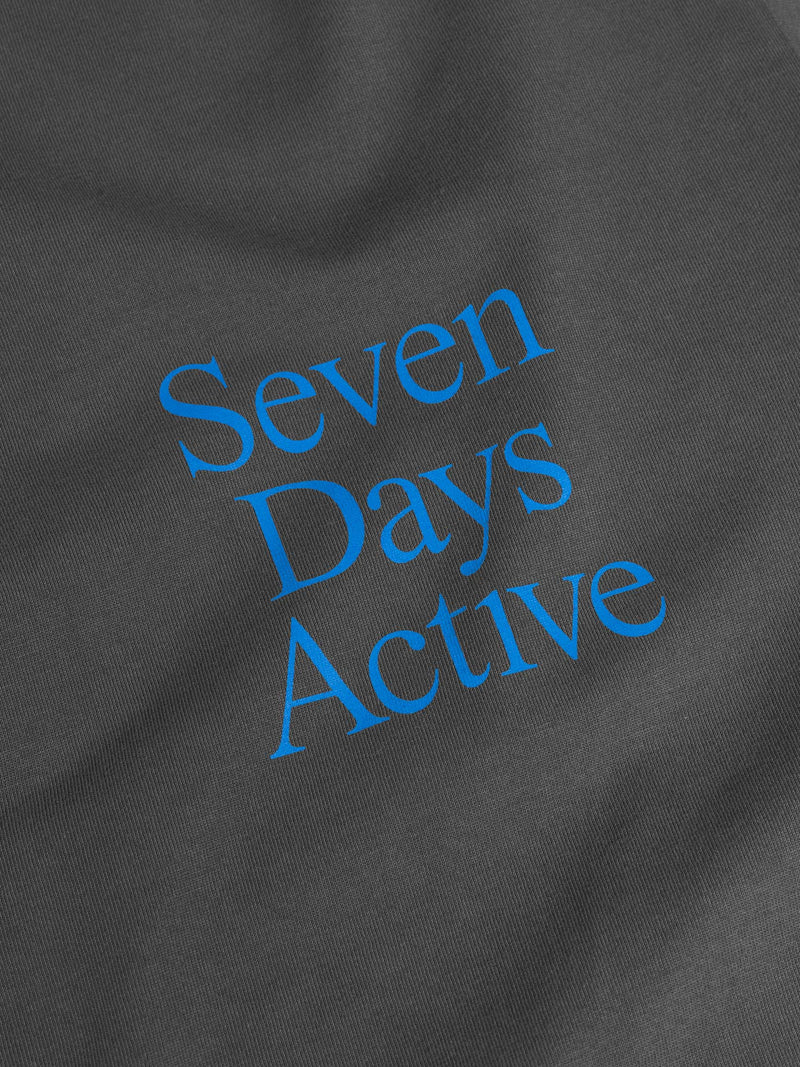 7 DAYS Long sleeve tee Tshirt 032 Dark grey