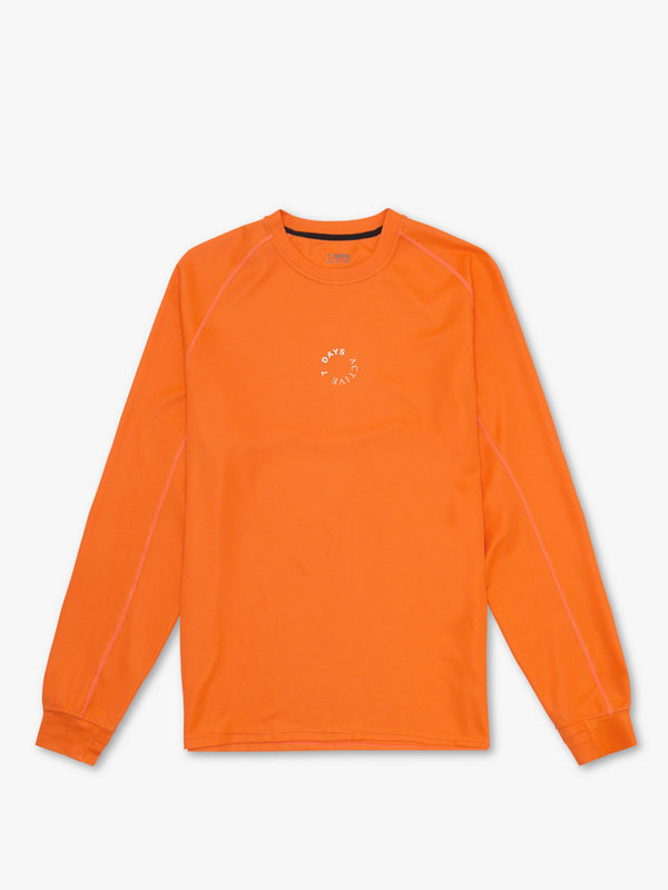 7 DAYS Long tech Tee Tshirt 600 Orange
