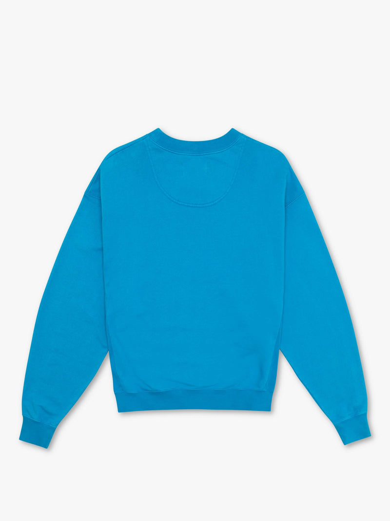 7 DAYS Monday crew neck Shirts 306 Pop blue