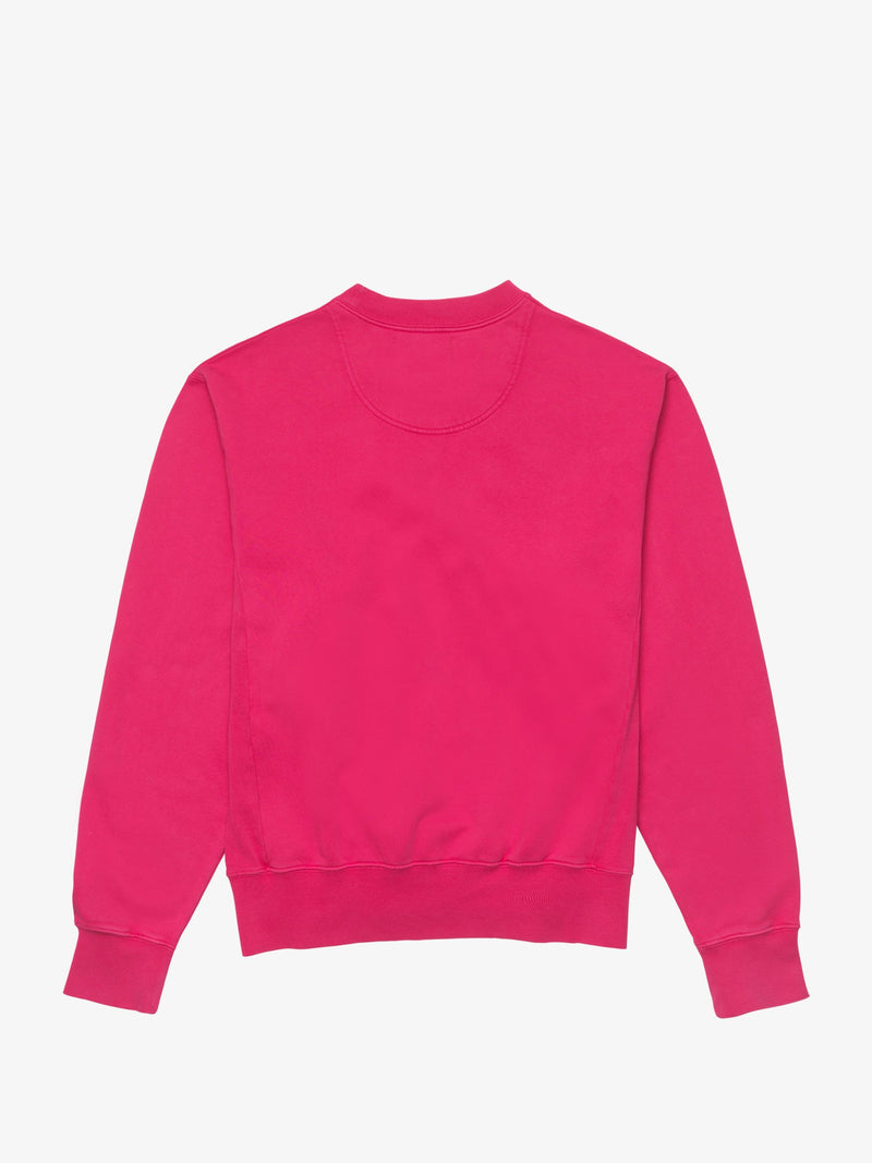 7 DAYS Monday crew neck Shirts 108 Bright Rose Pink