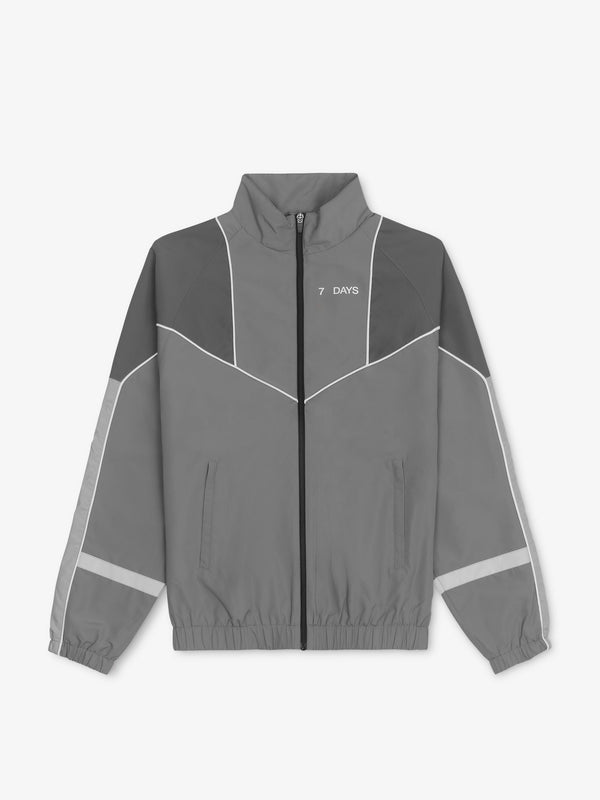 7 DAYS PA uni track jacket Jackets 002 SS20 Grey