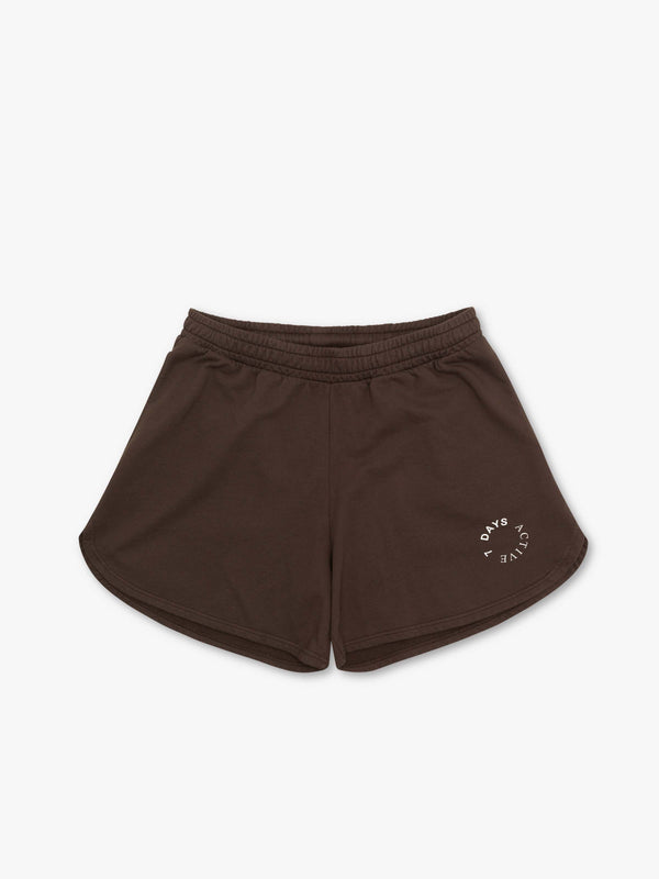 7 DAYS Sweat shorts Shorts 500 Brown