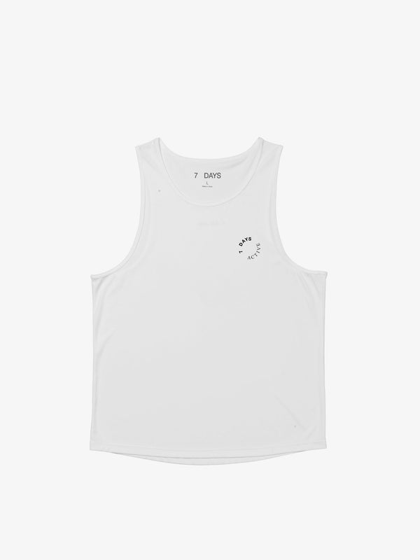 7 DAYS Tank top Shirts 009 White