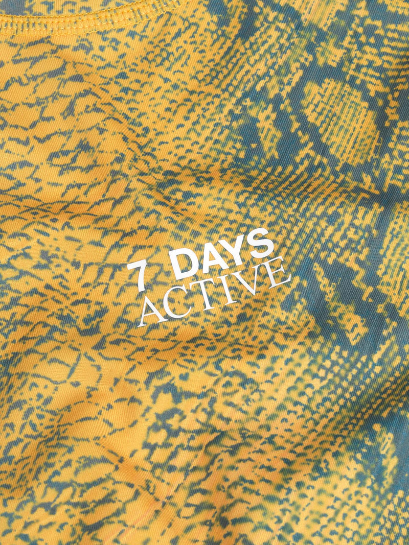 7 DAYS W tech top  902 Snake print
