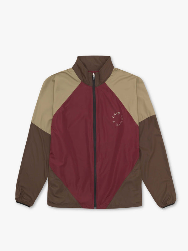 7 DAYS Running jacket Jackets 150 Burgundy/brown