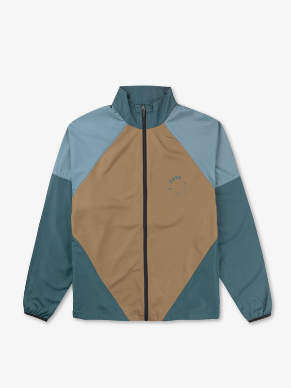 7 DAYS Running jacket Jackets 350 Blue/brown