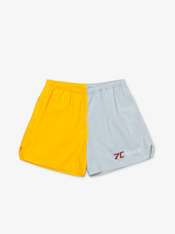 7 DAYS Champion shorts Shorts 006 SS20 Yellow/grey