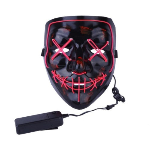 LED Light Mask The Purge Election Year Great for Cosplay Halloween-I Have Never Seen That