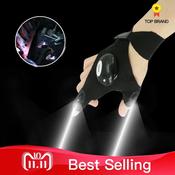LED Light glove. Great for fishing, camping and mechanics.