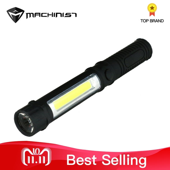 Multifunction LED Torch Mini Pen Light Hanheld Flashlight With Bottom Magnet