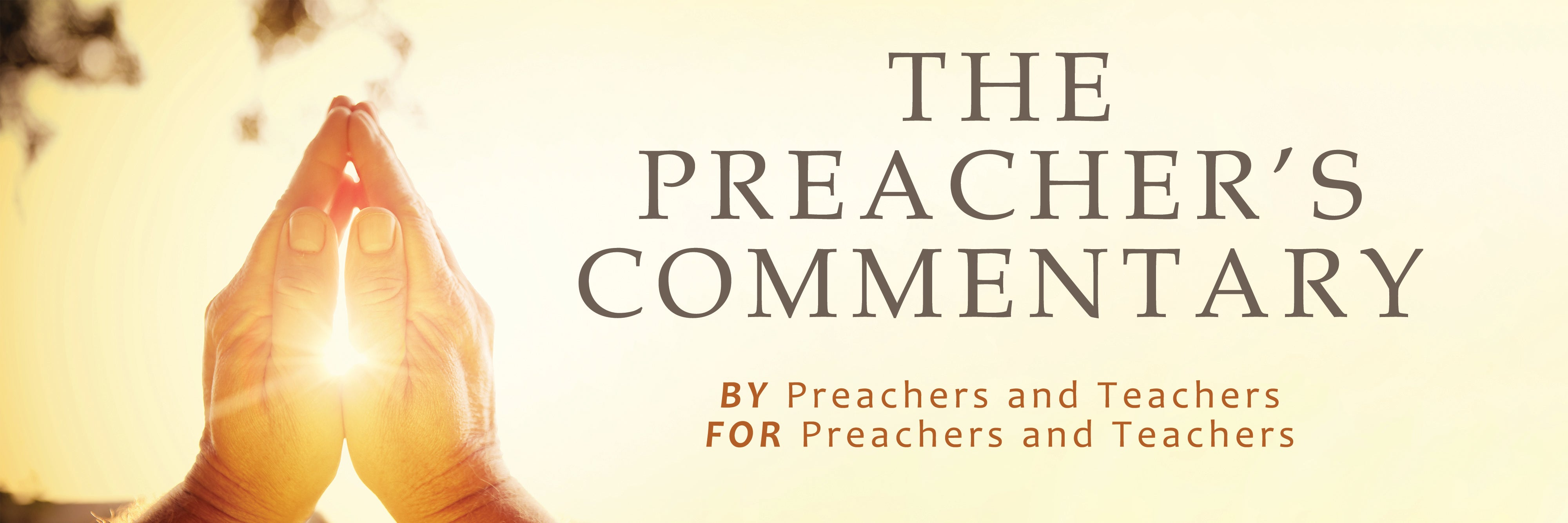 Preacher's Commentary Series