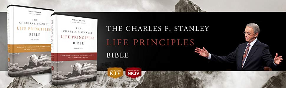 Charles F. Stanley Life Principles Bible