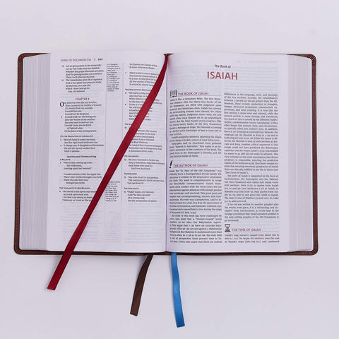 The NKJV & KJV Open Bible: Complete Reference System