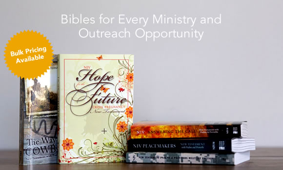Specialized Ministry Outreach Bibles