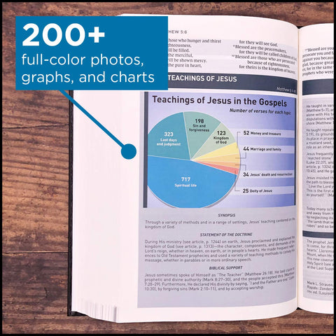 Storyline Bible: 200+ full-color photos, graphs, and charts