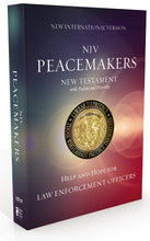 Load image into Gallery viewer, NIV, Peacemakers New Testament with Psalms and Proverbs, Paperback: Help and Hope for Law Enforcement Officers | ChurchSource