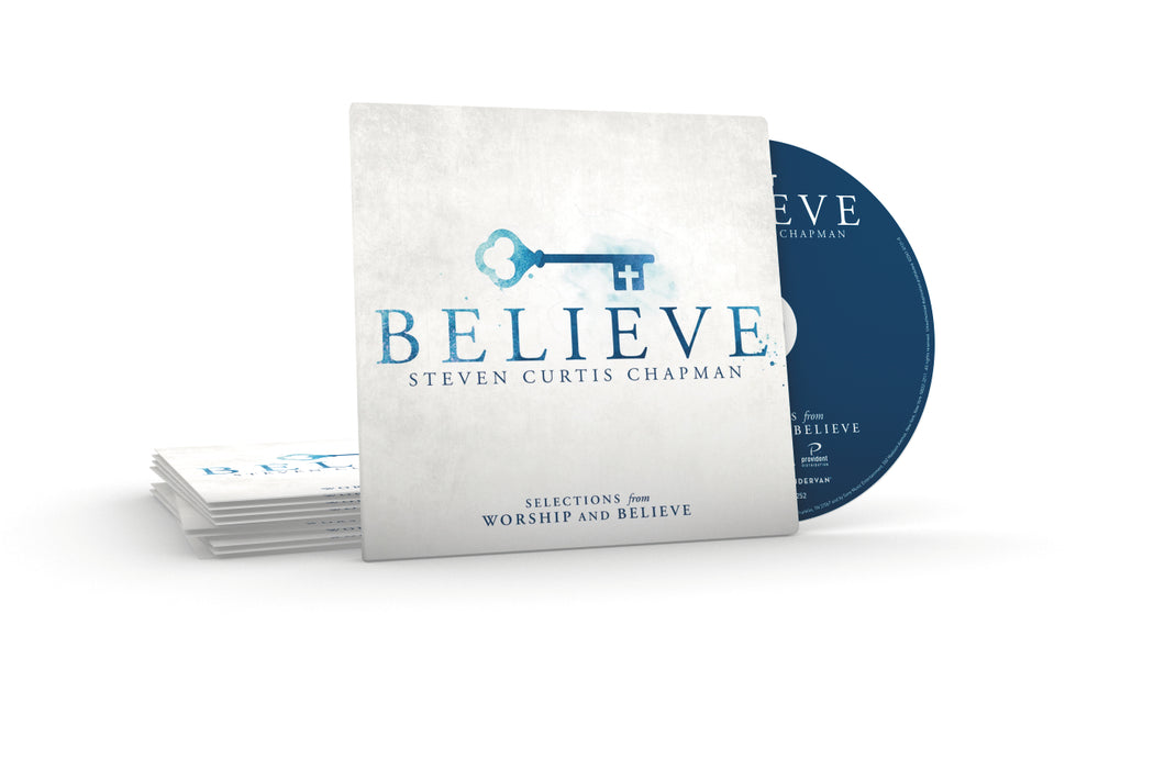 Selections from Worship and Believe CD - 10 Pack