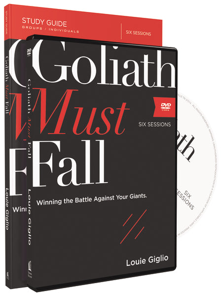 Goliath Must Fall Study Guide with DVD: Winning the Battle Against Your Giants
