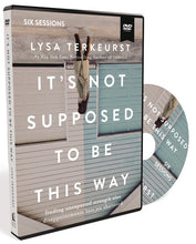 Load image into Gallery viewer, It's Not Supposed to Be This Way Video Study by Lysa TerKeurst | ChurchSource