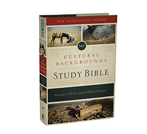 NIV, Cultural Backgrounds Study Bible, Hardcover, Red Letter Edition: Bringing to Life the Ancient World of Scripture by Craig S. Keener and John H. Walton