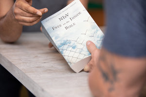 NIrV, Free on the Inside Bible, Paperback, Jail & Prison Ministry Outreach Bible