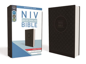See more details about - NIV Value Large Print Thinline Bible Imitation Leather
