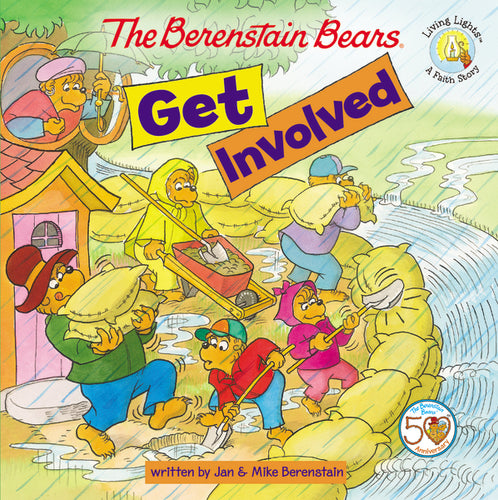 The Berenstain Bears Get Involved by Jan Berenstain and Mike Berenstain