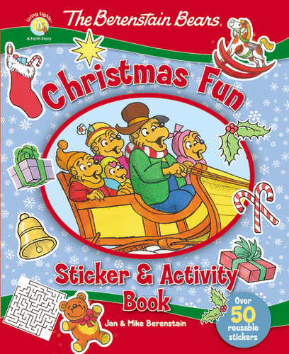 The Berenstain Bears Christmas Fun Sticker and Activity Book by Jan Berenstain and Mike Berenstain