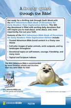 Load image into Gallery viewer, NIrV Adventure Bible Book of Devotions for Early Readers: Polar Exploration Edition: 365 Days of Adventure