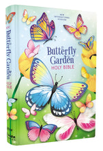 Load image into Gallery viewer, NIV, Butterfly Garden Holy Bible, Hardcover, Comfort Print