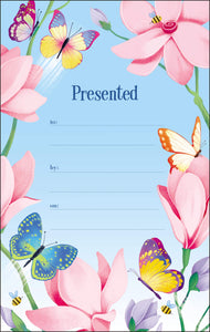 NIV, Butterfly Garden Holy Bible, Hardcover, Comfort Print
