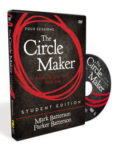 Load image into Gallery viewer, The Circle Maker Student Edition Video Study: Praying Circles Around Your Biggest Dreams and Greatest Fears by Mark Batterson