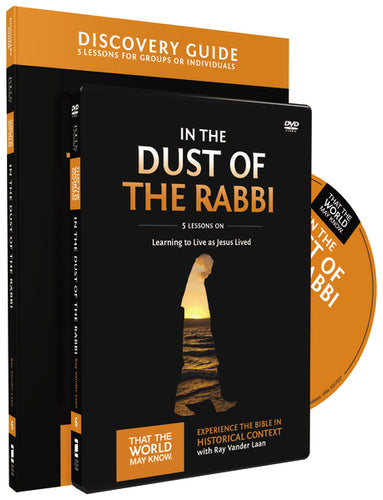 In the Dust of the Rabbi Discovery Guide with DVD: Learning to Live as Jesus Lived