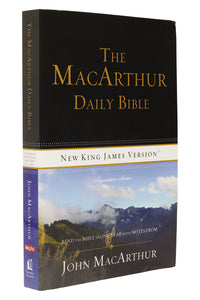 See more details about - NKJV The MacArthur Daily Bible Paperback