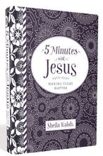 Load image into Gallery viewer, 5 Minutes with Jesus by Sheila Walsh