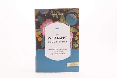 NIV, The Woman's Study Bible, Hardcover, Full-Color: Receiving God's Truth for Balance, Hope, and Transformation by Dorothy Kelley Patterson and Rhonda Kelley