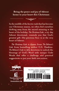 The Christmas Code Booklet by O. S. Hawkins