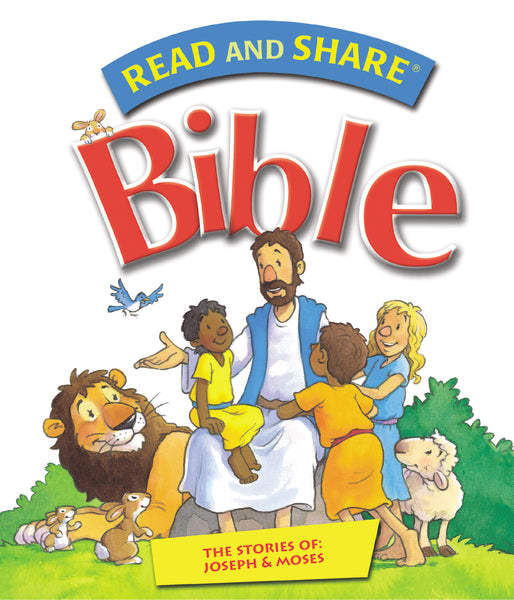 Read and Share Bible - Pack 2: The Stories of Joseph and Moses
