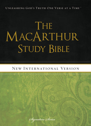 NIV, The MacArthur Study Bible, Hardcover