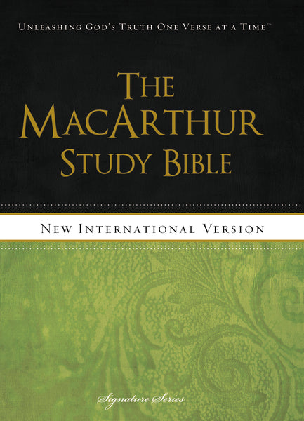 NIV, The MacArthur Study Bible: Holy Bible, New International Version