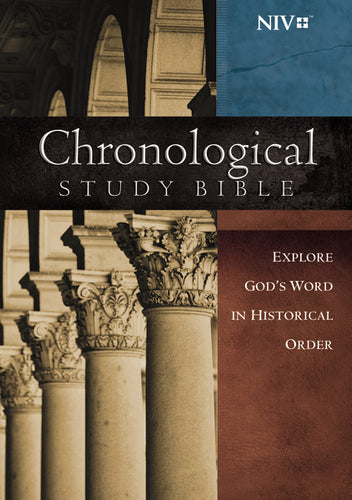 NIV, Chronological Study Bible, Hardcover: Holy Bible, New International Version