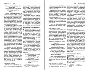 NIV, Pew and Worship Bible, Large Print, Hardcover, Black, Comfort Print