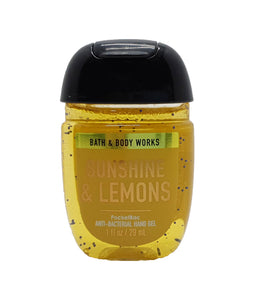 Antibacterial Hand Gel Bath & Body Works Sunshine & Lemons 29 ml / 1 oz