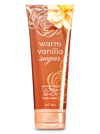 Body Cream Bath & Body Works Warm Vanilla Sugar 226 g