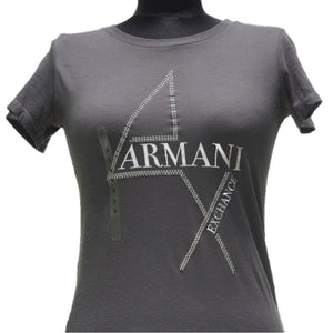 Playera Armani Exchange Grey Phantom