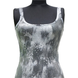 Playera Armani Exchange Grey Printed Sequin
