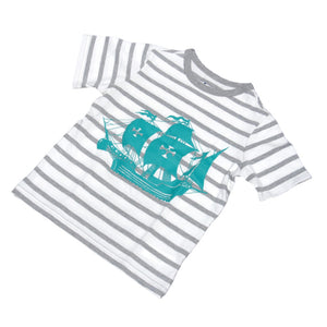 Playera Baby Gap Barco Pirata